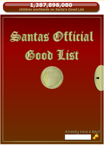 Santa's Good List