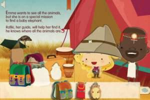 Book Puzzle Emma in Africa app