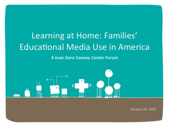 families educational media use in america